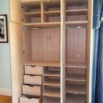 Oak Wardrobe with soft close drawers and shoe racks