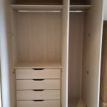 Wardrobe with Oak interior