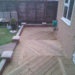 Finished Decking in Sutton