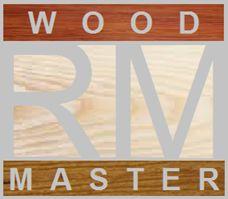 RM Wood Master logo