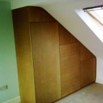 Wardrobe in Loft Conversion