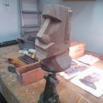 Easter Island figure