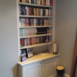 bookcase with adjustable shelving