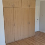 Wardrobe with Routed panelling External