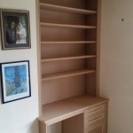 Bespoke Desk with Book Case