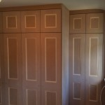 Staggered Wardrobe with Linen Cupboard External