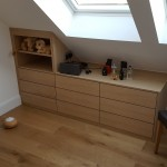 Loft Drawer & Shelf Unit in Oak