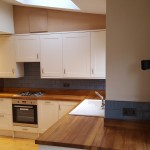 Kitchen with Iroko Worktops